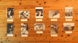 写真展「古写真で見る剣山」が再開しました。